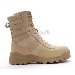 Womens Military Tactical Ankle Boots Desert Combat Clmbing O