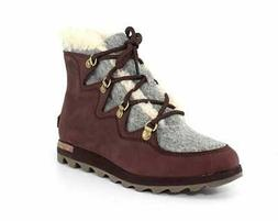 Sorel Womens Sneakchic Alpine Holiday Closed Toe Ankle Comba