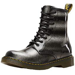 Dr.Martens Youth 1460 Ombre Glitter Synthetic Black Silver B